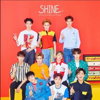 SHINE(Japanese Ver.)歌词谐音 PENTAGON日语