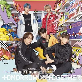Angel Or Devil(Japanese Ver.)歌词谐音 Tomorrow X Together日语