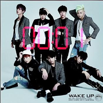 WAKE UP歌词谐音 防弹少年团日语