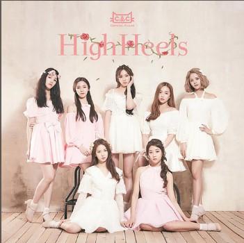 High Heels歌词谐音 CLC日语